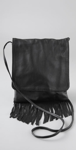 Something Else Leather Fringe Mini Bag