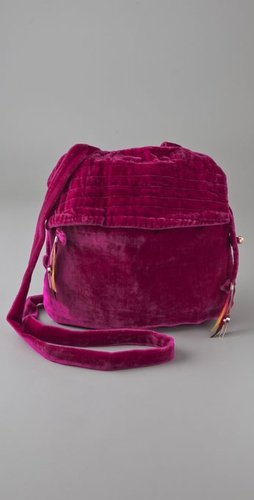 Something Else Velvet Mini Bag