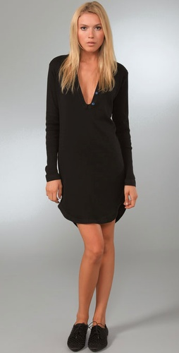 Sophomore Ribbed Tunic Dress
