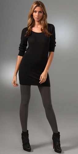 Splendid Super Fine Cashmere Sweater Dres