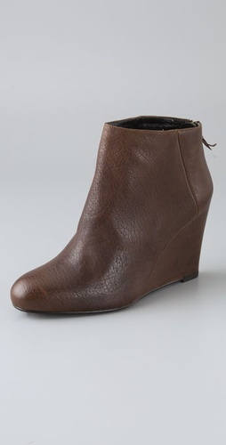 Stuart Weitzman Shoezy Wedge Booties