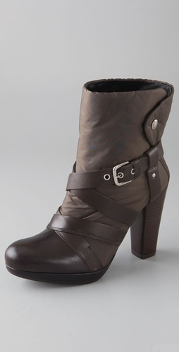 Stuart Weitzman Windup Nylon Booties
