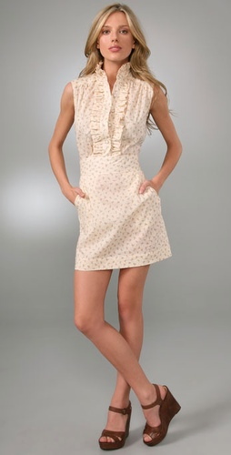 Sunner Lady Ruffle Mini Dress