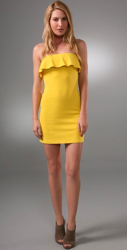 Susana Monaco Flutter Tube Dress