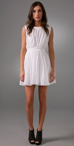 Thakoon Thakoon Addition Sleeveless Smocked Dress