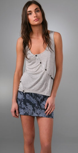 Thakoon Thakoon Addition Seamed Tank