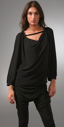 Thakoon Thakoon Addition Drape Blouse