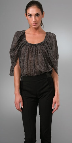 Thakoon Draped Wing Blouse