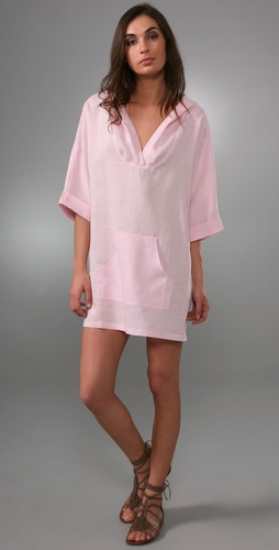 Thayer Hooded Beach Cover Up