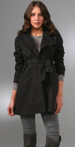Theory Alexia Trench Coat