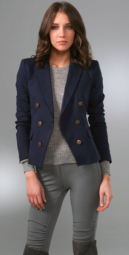 Theory Darlin Stretch Canvas Jacket