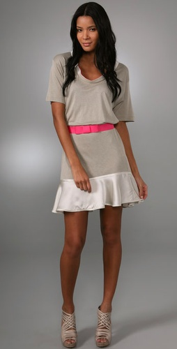 Thread Social Short Sleeve Dress With Ruf
