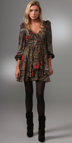 Thread Social Paisley Print Short Dress