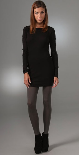 Three Dots Long Sleeve Dress