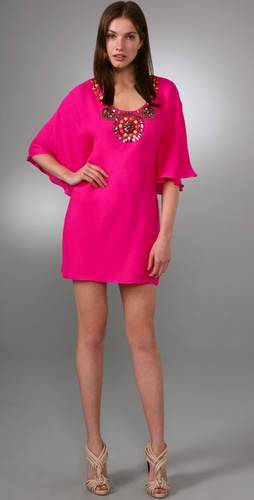 Tibi Grande Sol Caftan Dress