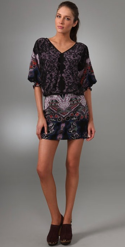 Tibi Chantilly Batik Dress