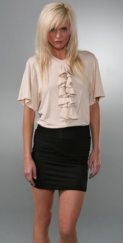 Torn by Ronny Kobo Boyfriend Bow Tee