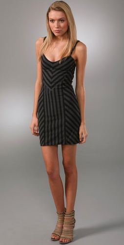 Torn by Ronny Kobo Nina African Stripe Dress