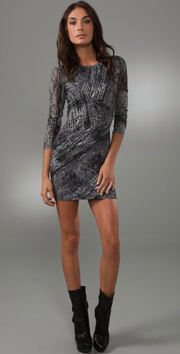 Torn By Ronny Kobo Tara Erosion Dress