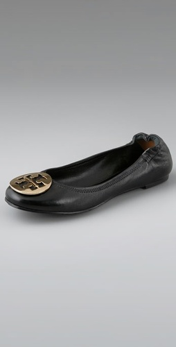 Buy Tory Burch Nappa Leather Reva Ballet Flats - Tory Burch online - Footwear, Womens, Footwear, Flats, at Heel Addict Online Shoe Shop