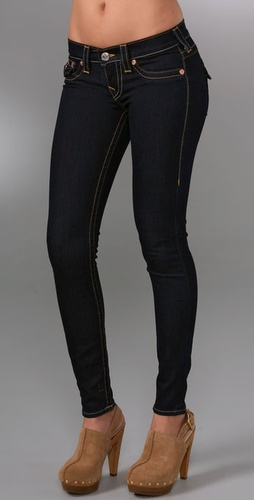 True Religion Misty Super Skinny Denim Le