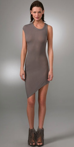 T By Alexander Wang 2x2 Draped Dress