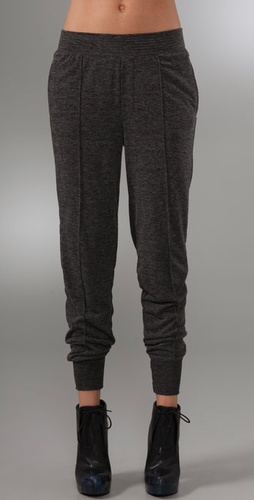 T by Alexander Wang Knit Fitted Sweatpants