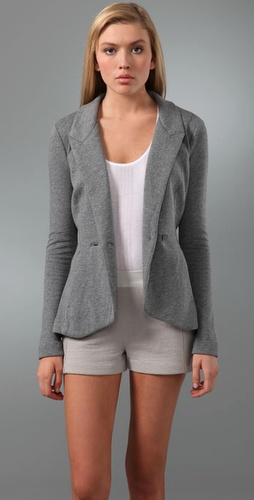 T by Alexander Wang Back Cutout Blazer