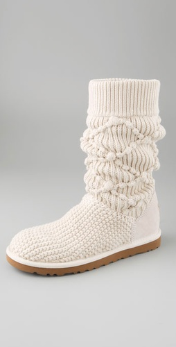 Ugg Australia Classic Argyle Knit Boots