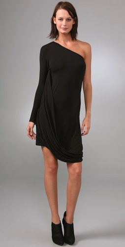 Under.ligne By Doo.ri One Shoulder Draped