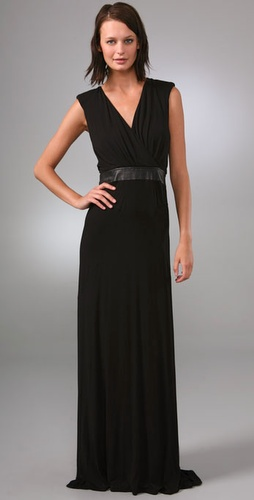 Under.ligne By Doo.ri Seamed Gown With Le