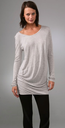 Under.ligne By Doo.ri Long Sleeve Draped
