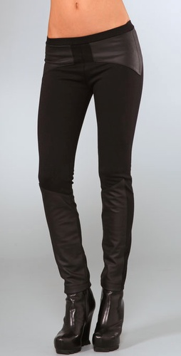 Veda Leather Joker Pants