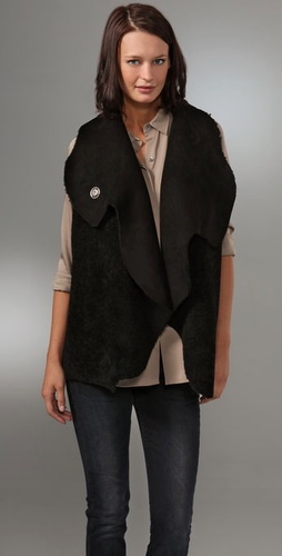 Veda Shearling Apache Vest