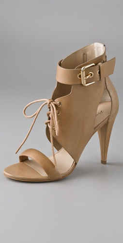Pour La Victoire Brit Lace Up Sandals from shopbop.com