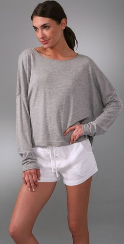 Vince Flanged Square Sweater
