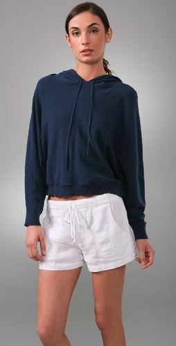 Vince Hooded Dolman Sweater