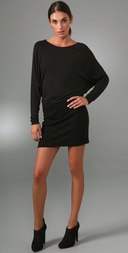 Vince Knit Combo Wedge Dress