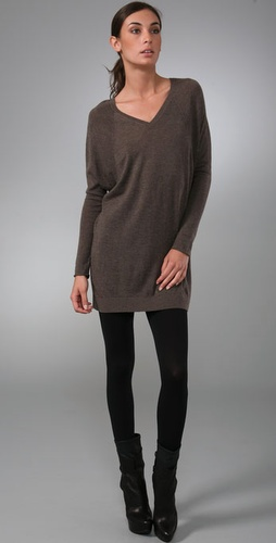 Vince Double V Raglan Cashmere Sweater