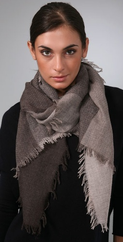 Vince Doddy Rectangular Scarf