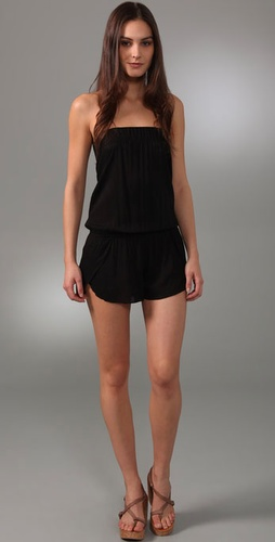 Vix Swimwear Bandeau Cover Up Romper