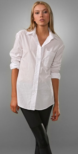 Victorialand Basic Oversized Men's Shirt