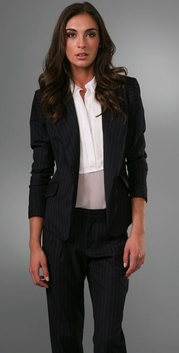 Victorialand Wing Blazer With Panels