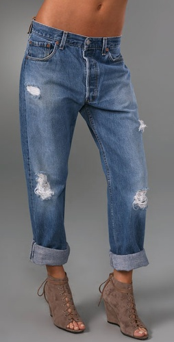 WGACA Vintage Vintage Levi's Boyfriend Jeans