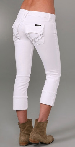 William Rast Belle Cropped Skinny Jeans