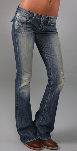 William Rast Belle Flap Flare Jeans