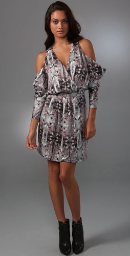 Zimmermann Fragment Mirror Wrap Dress