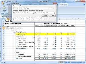 QuickBooks Pro Home Page