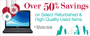 Refurbished and High-Quality Item Holiday Deals
