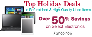 Refurbished and High-Quality Used Item Holiday Deals